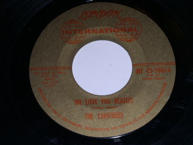 Primary image for The Carefrees We Love You Beatles 45 Rpm Record London International Label