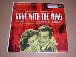 Gone With The Wind 10 Inch Record Album 1954 - $74.99