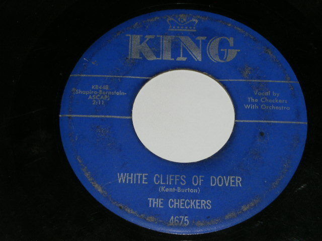 Primary image for The Checkers White Cliffs Of Dover 45 Rpm Record King