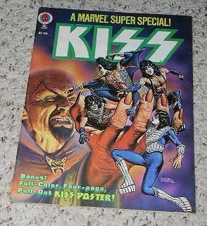 Primary image for KISS Marvel Super Special Magazine Vintage 1978 Poster
