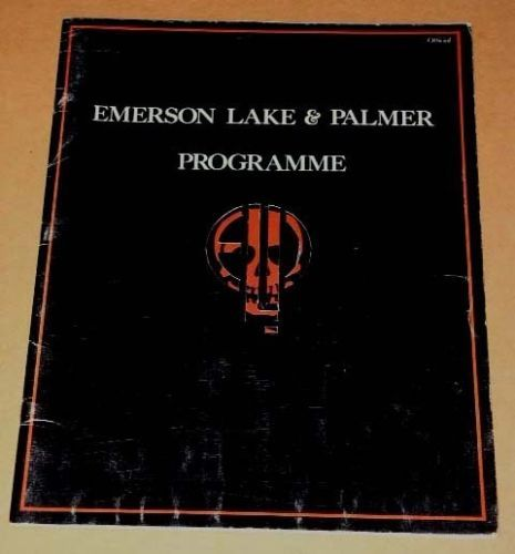 Primary image for Emerson Lake Palmer Concert Tour Program Vintage 1977