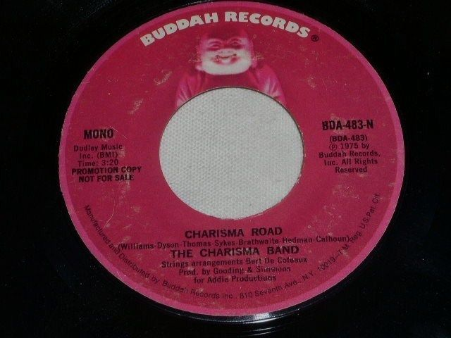 Primary image for THE CHARISMA BAND CHARISMA ROAD 45 RPM  RECORD 1975