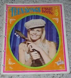 Primary image for Teen Songs Fake Book Vintage 1966 British Invasion