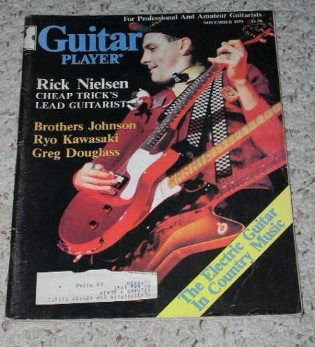 Primary image for Cheap Trick Guitar Player Magazine Vintage 1979