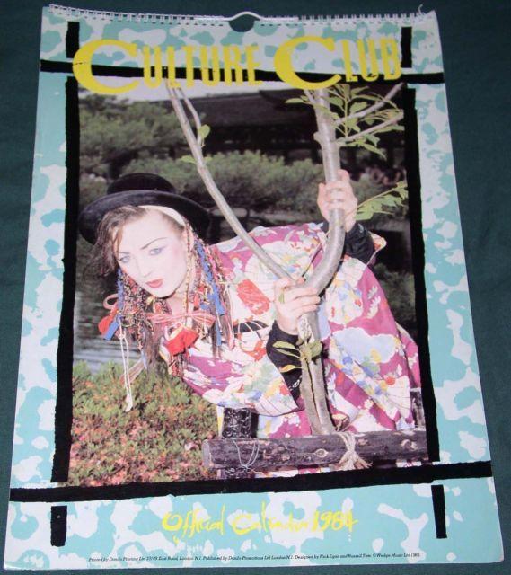 Culture Club Boy George Official Uk Calendar And Similar Items