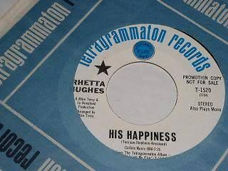 Primary image for Rhetta Hughes His Happiness Northern Soul 45 Rpm Record