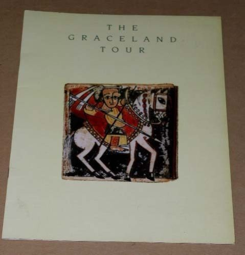 Primary image for Paul Simon Concert Tour Program Vintage 1987
