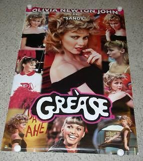 Primary image for Olivia Newton John Poster Grease 2009 Scorpio Posters