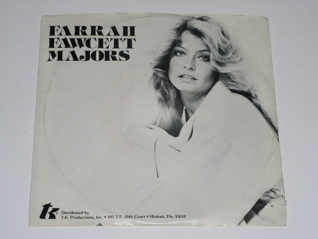 Primary image for Farrah Fawcett You 45 Rpm Phono Record Vintage Pic Sleeve