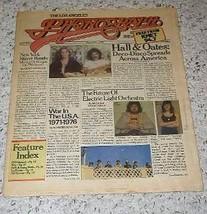 Hall & Oates E.L.O. Phonograph Record Magazine 1976 - $39.99