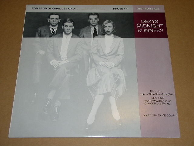 Primary image for Dexys Midnight Runners This Is What She Likes Promotional Record Single