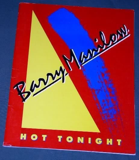 Primary image for BARRY MANILOW HOT TONIGHT CONCERT TOUR PROGRAM 1983