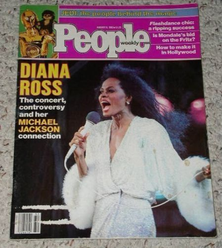 Primary image for Diana Ross Michael Jackson People Weekly Magazine 1983