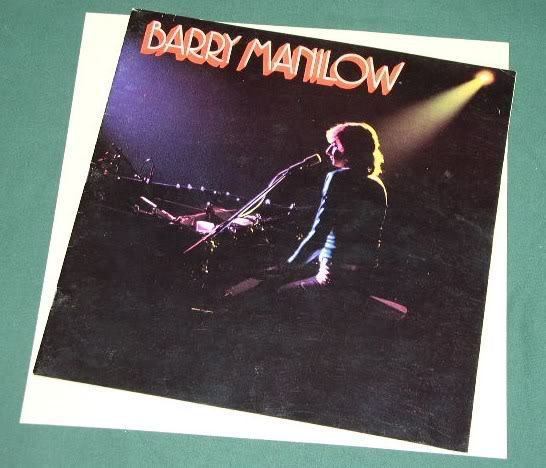 Primary image for BARRY MANILOW CONCERT TOUR PROGRAM VINTAGE 1976, RARE