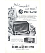 1951 GE Model 400 404 vintage Table Radio print ad - $10.00