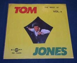 Tom Jones Vintage Taiwan Import Record Album Lp - $39.99