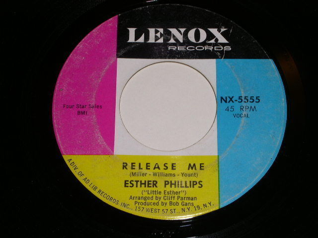 Primary image for Esther Phillips Don't Feel Rained On 45 Rpm Record Vintage Lenox Label