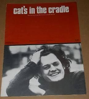 Primary image for Harry Chapin Sheet Music Vintage 1974