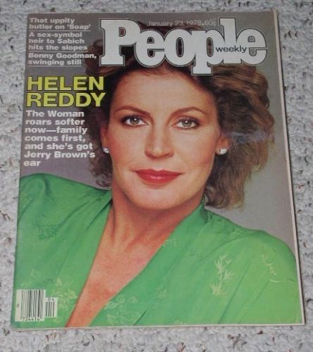 Primary image for Helen Reddy People Weekly Magazine Vintage 1978