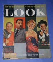 MAVERICK JAMES GARNER JACKIE GLEASON DINAH SHORE LOOK MAGAZINE 1958 - $34.99