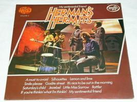 Herman's Hermits Vintage Uk Import Record Album Lp - $39.99