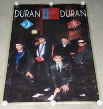 DURAN DURAN POSTER VINTAGE 1984 BI-RITE #15-298 - $52.99