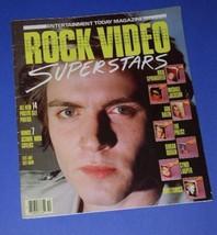 DURAN DURAN ROCK VIDEO SUPERSTARS POSTER BOOK 1984 #1 - $39.99