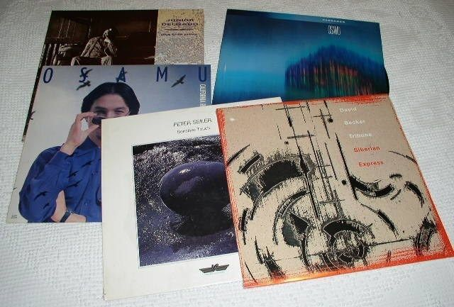 Primary image for NEW AGE JAZZ ALBUMS VINTAGE LOT OF 5 OSAMU