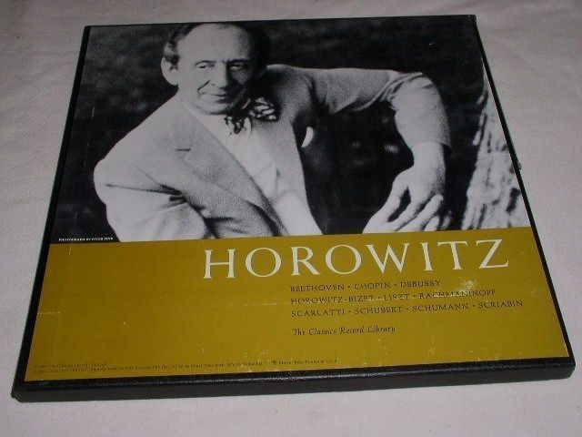 Primary image for HOROWITZ VINTAGE BOXED SET PHONOGRAPH RECORDS ALBUM LP