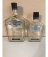 GENTLEMAN JACK DANIELS Glass Bottles-750ml & 1.75L Whiskeys Bottles Empt... - $12.60