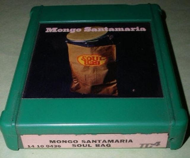 Primary image for MONGO SANTAMARIA 4 TRACK TAPE CARTRIDGE VINTAGE