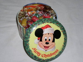 MICKEY MOUSE DISNEY VINTAGE TIN WITH ORIGINAL CANDY - $39.99