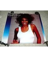 Whitney Houston Promotional Poster Tower Records - $499.99