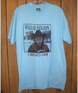 Willie Nelson Concert Tour T Shirt Vintage The IRS Tapes Benefit - $264.99
