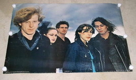 Human League Poster Vintage 1981 Anabas Uk Import - $69.99