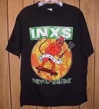 INXS Concert Tour T Shirt Vintage 1987 Hutchence - $264.99