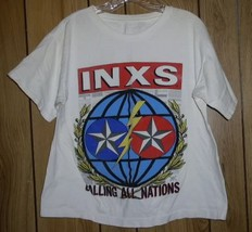 Inxs Concert Tour T Shirt Vintage Calling All Nations - $164.99