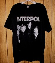 Interpol Concert Tour T Shirt 2007 Our Love To Admire With Liars - $74.98