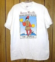Aaron Neville Concert Tour T Shirt Vintage Everybody Plays The Fool - $164.99