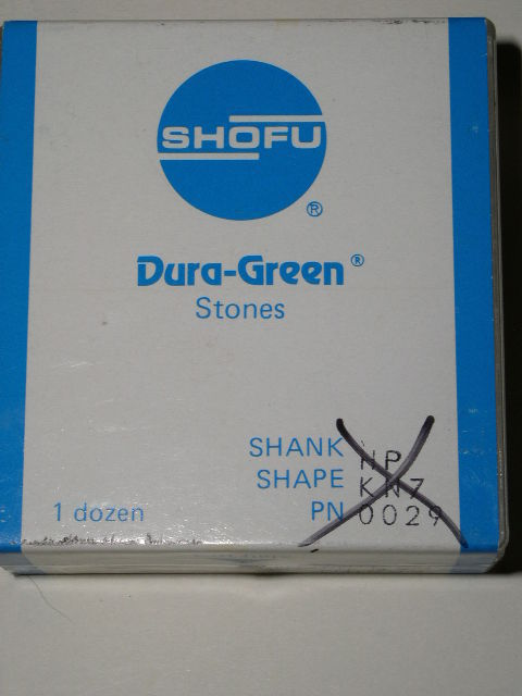 Primary image for Shofu Dental Lab Dura Green Stones Handpiece KN7