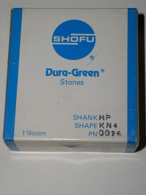 Primary image for Shofu Dental Lab Dura Green Stones Handpiece KN4
