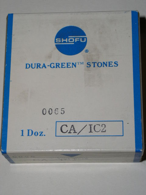 Primary image for Shofu Dental Lab Dura Green Stones CA Shank IC2