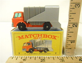 Vintage 1960's Lesney Matchbox #7 Ford Refuse Truck F Type Original Box ... - $28.57