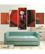Red Sonja Wall Art Painting Canvas Marvel Comics Poster HD Framed. - $74.99+