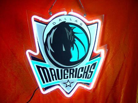 Primary image for NBA Dallas Mavericks Neon Light Sign 10'' x 8''
