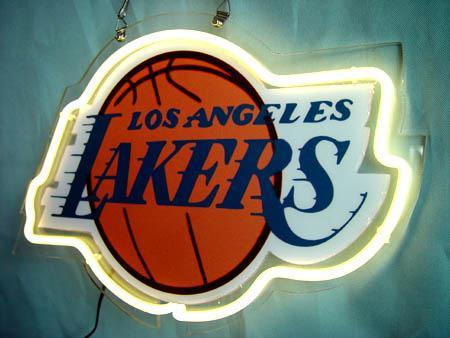 Primary image for NBA Los Angeles LA Lakers Basketball Neon Light Sign 10'' x 8''