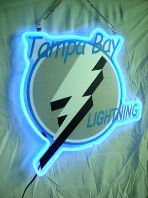 Primary image for NHL Tampa Bay Lightning Neon Light Sign 10'' x 8''
