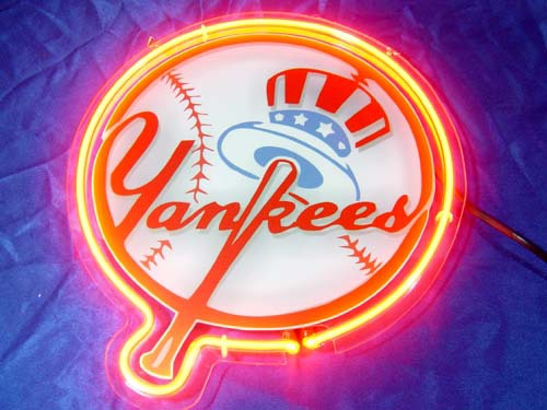 Primary image for MLB New York NY Yankees Neon Light Sign 10'' x 8''