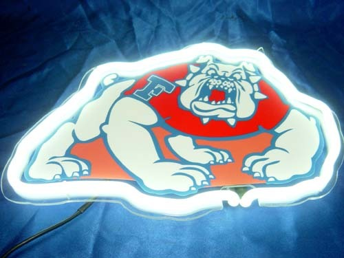 Primary image for NCAA Fresno Bulldogs Football Neon Light Sign 10'' x 8''