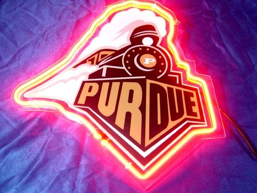 Primary image for Purdue Boilermakers Basketball Neon Light Sign 10'' x 8''